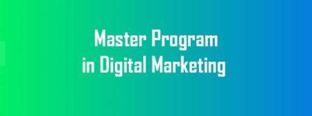 Master Program in Digital Marketing