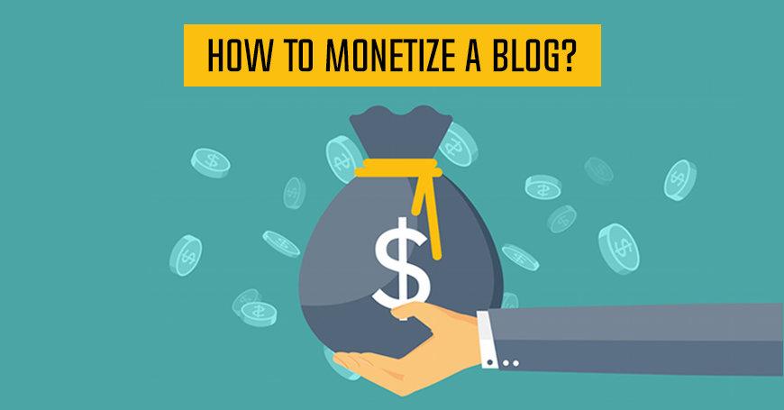 Monetize a Blog Traffic