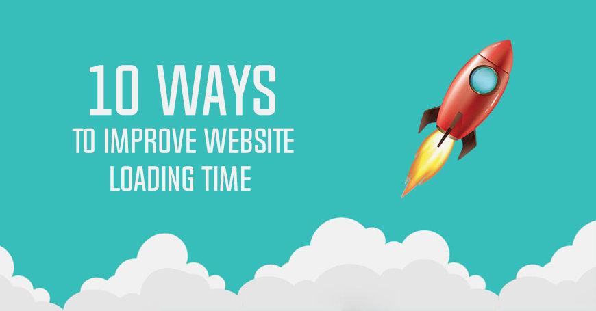 improve website loading time