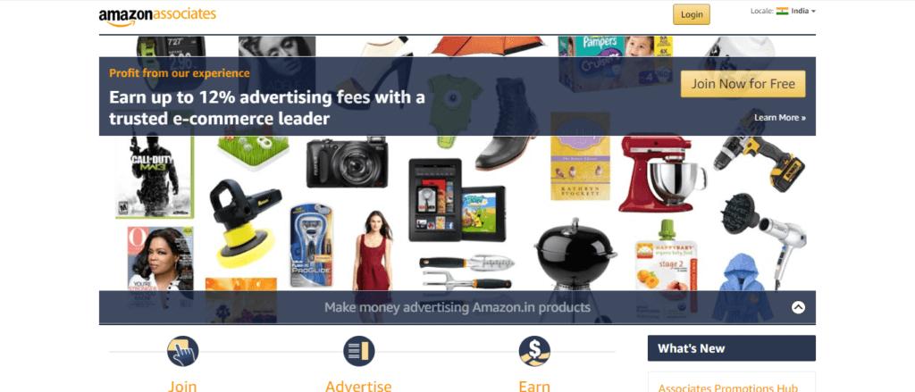 amazon affiliate Platform