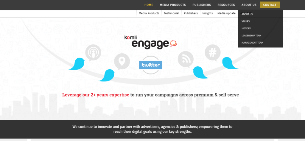 komli affiliate Platform