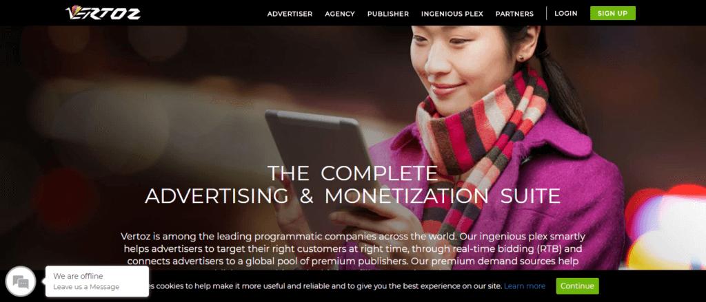vertoz affiliate Platform